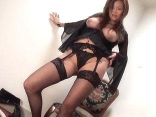 Crazy Japanese whore Rui Horie in Amazing JAV uncensored Lingerie movie