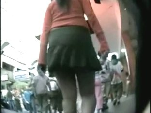 Hidden upskirt catches the sexiest fat asses in the city