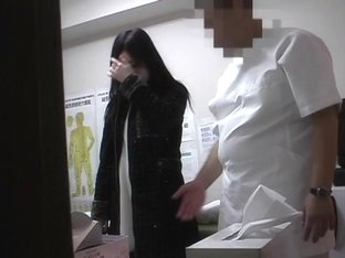 A fresh Japanese is fucked by a medical man in this massage voyeur porn video