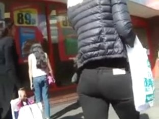 Video I Took Of A Blonde Walking Up Wycombe Highstreet