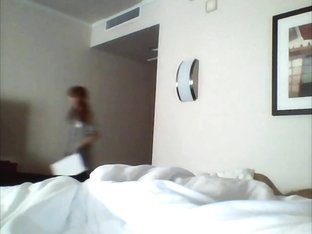Flashing Hotel Maid My Cock 10a