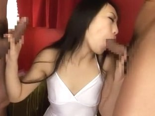 Crazy Japanese slut Shizuka Kanno in Incredible Big Dick, Blowjob/Fera JAV clip