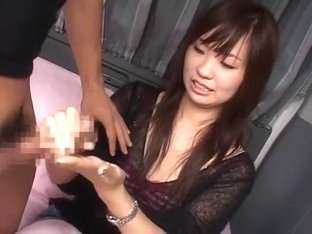 Incredible Japanese chick in Best Handjobs JAV scene