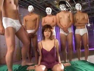 Fabulous Japanese girl Amami Ichigo, Azusa Ayano, Ruri Sato in Amazing Handjobs, Facial JAV scene