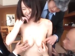 Fabulous Japanese model in Hottest Handjobs JAV movie