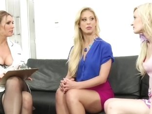 Tanya Tate, Cherie DeVille, and Skylar Green - Sex Therapy