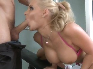 The big cock owner Mr. Pete getting deepthroated and fucks Phoenix Marie