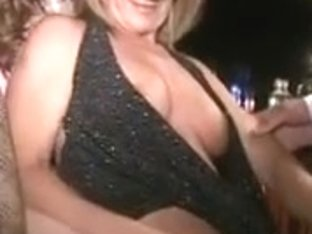 Pink nipp mother I'd like to fuck sucks melons slit and dong at bar
