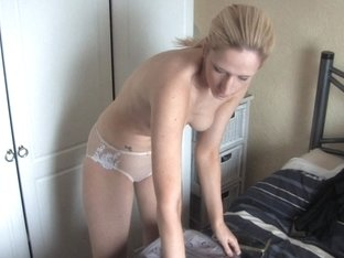 Great down blouse small tits view of a lovely blonde