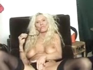 Sexy older lady solo