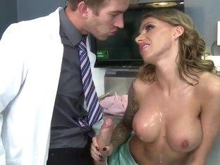 Doc Danny D seduces a nurse Juelz Ventura
