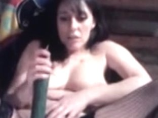 Hard drilling for her pussy and arse