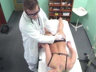 Czech patient riding doctors dick