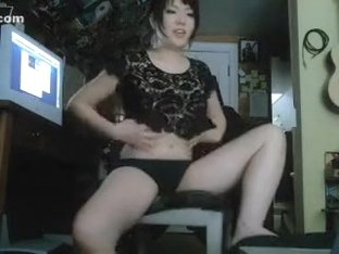 My homemade webcam porn video with me jilling off