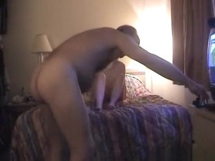 Old man tapes himself fucking a girl in a motel