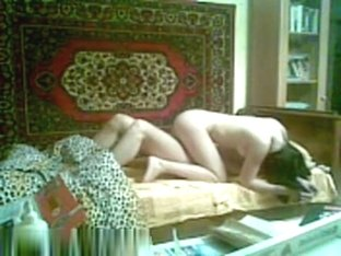 Pale arab chick in the bedroom