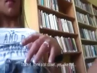 He Ass Fucked Her in a School Library
