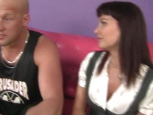 Exotic pornstar Adrianna Analese in hottest cumshots, brunette adult video
