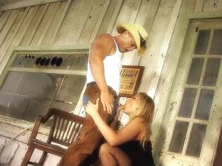 Exotic pornstar Alanah Rae in horny blonde, cumshots porn movie