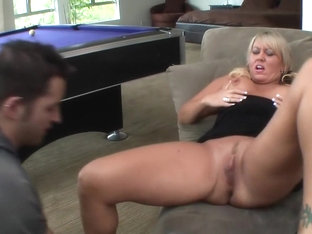 Fabulous pornstar Chennin Blanc in horny blonde, cumshots sex scene