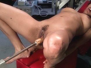 Amazing fetish adult clip with exotic pornstar Jaxxa Nova from Fuckingmachines