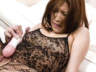 Exotic Japanese model Tsubasa Aihara in Horny JAV uncensored Dildos/Toys clip
