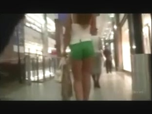 Candid mall green shorts