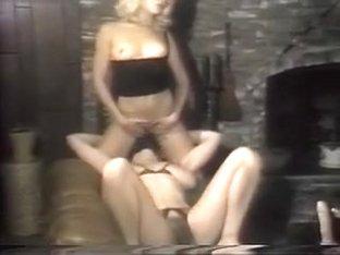 Oral Annie in Crotchless Panties