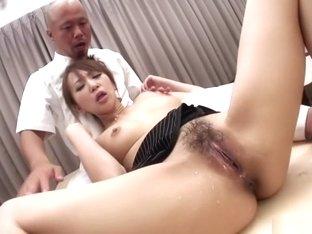 Crazy Japanese chick Anna Mizukawa in Amazing JAV uncensored Gangbang movie