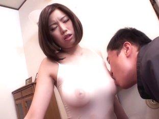 Amazing Japanese whore Mayuka Otsuki in Best big tits, nipples JAV clip