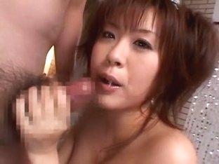 Incredible Japanese slut in Amazing Gangbang, Handjobs JAV scene