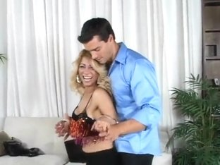 Latina milf Barbara seduces young slud Ramon