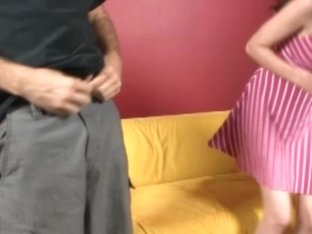 Skinny teenager amateur jerking rod