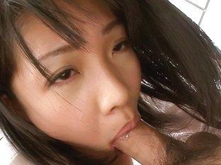 Amazing Japanese chick Hikaru Momose in Hottest JAV uncensored Blowjob clip