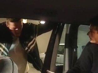 Priscilla 3some in Taxi