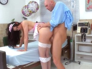 Johnny Sins licks and drills Kendall Karson