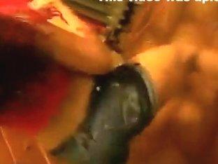 Exotic butt popping web camera teenager movie scene
