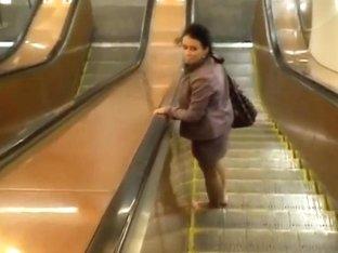 Black haired Krystinka gets filmed in close up