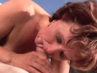 Sweet mature lady Manyika fucking with a boy
