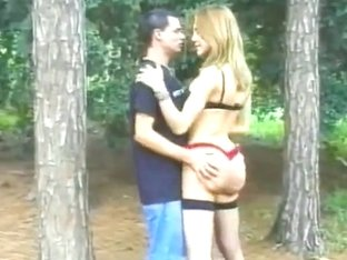 Good fuck in the woods
