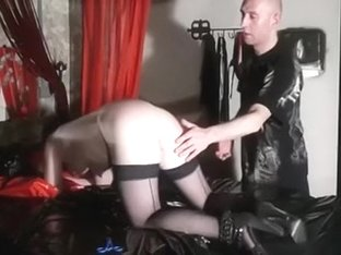 French white wench enjoys wonderful arse penetration with sex toys