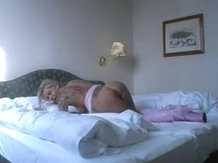 Large german woman drilled in hotel room