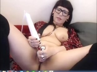 Sexy goth toys with hitachi