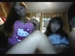 Two incredible teens on a webcam