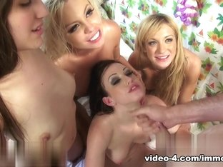 Fabulous pornstars Jennifer White, Amy Brooke, Zarena Summers in Horny Group sex, Cumshots xxx clip