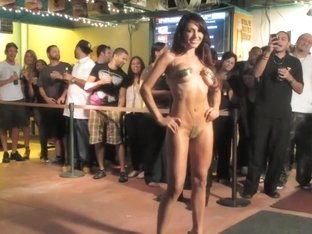 Nude Fashion Weekin The Pub Micro Bikini Final 1