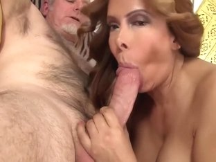 Hottest pornstar Nicky Ferrari in horny lingerie, latina porn movie
