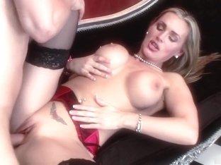 Fabulous pornstar Tanya Tate in hottest lingerie, big tits sex clip