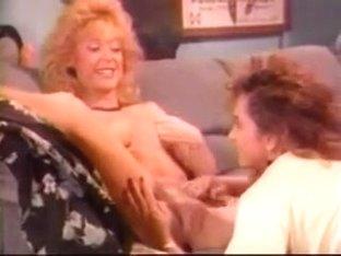 Nina Hartley and Keisha - Another old hot girl - girl scene.