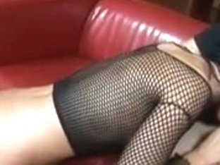 Lascivious hussy getting laid